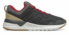 New Balance Kid's 515 Sport Little Kids Male Shoes Black with Off White