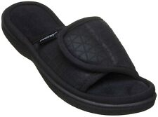 ISOTONER moisture wicking MIA women's slide slippers with Memory Foam 8.5-9