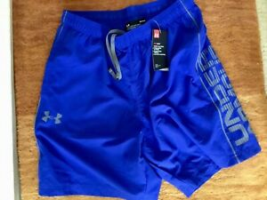 UNDER ARMOUR MEN'S ROYAL BLUE PERFORMANCE SHORTS BNWT SIZE LARGE