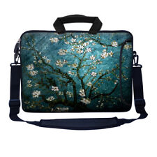 17 17.3 Inch Neoprene Laptop Bag w. Side Pocket Shoulder & Shoulder Strap 3005