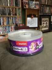 Imation Government Series 16x DVD+R Media - 4.7GB - 120mm 25-Pack Free Ship!