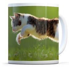 Awesome Playful Kitten - Drinks Mug Cup Kitchen Birthday Office Fun Gift #8281