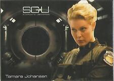"Stargate Universe Season 1 - ""Tamara Johansen's Black Pants"" Costume Card"
