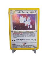 Light Togetic Pokemon Card Neo Destiny First Edition 15/105 Excellent! Holo 1st