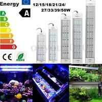 5730 LED Aquarium Beleuchtung Aufsatzleuchte 12/15/18/21/24/27/33/39W 20-80CM