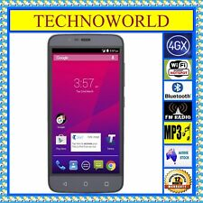 "UNLOCKED TELSTRA 4GX PLUS ZTE A462+4G WIFI HOTSPOT+BLUETOOTH+5"" ANDROID+FM+GPS"