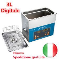3L Digitale Lavatrice Pulitore ad Ultrasuoni Pulitrice Vasca Ultrasuoni Cleaner