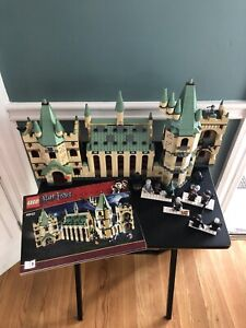 LEGO Harry Potter Hogwarts Castle (4842) W/ Manuals and Minifigs - Retired