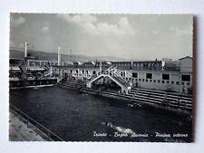 TRIESTE Bagno Ausonia piscina vecchia cartolina *