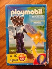 Playmobil 4849 Treasure Hunter Temple Guard with Orange Light New damaged box