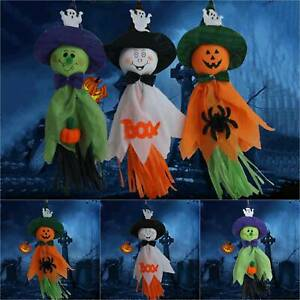 Pumpkin Ghost Witch Hanging Party Props Haunted In/Outdoor Halloween Decoration