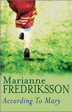 According to Mary, Fredriksson, Marianne, New Book