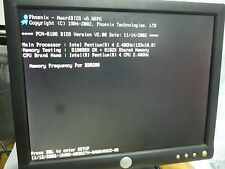 Advantech PCA-6186 Rev.A1 Bios Ver V2.00 P4 2.40 GHz, 512MB, 4 USB,  dual LAN po