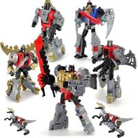 Transformation G1 Darts Grimlock Sludge Swoop Snarl Robot Dinosaur Dinobot Toys