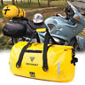 Outdoor Motorcycle Touring Waterproof Dry Luggage Roll Pack Rear Tail Bag 66L