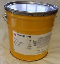 SIKA - 618  1 x 15L Light Grey Liquid Waterproofing Membrane Roofing ( 15m2 )