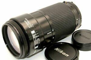 Near Mint Nikon AF NIKKOR 70-210mm f/4 Standard Telephoto Lens w/ Cap from Japan