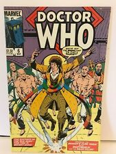 Doctor Who - Marvel comics 6 March1985 - USA