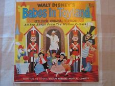 VTG Walt Disney's Babes in Toyland Record LP DQ1219 Songs from Movie 1961