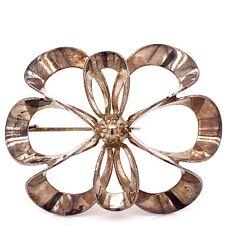 Vintage NE From Denmark Sterling Silver Brooch! 213
