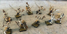Games Workshop Elves of some kind (GW 1995 on bottom) Partial paint...(C18B1)