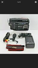 JVC COMPACT VHS-C CAMCODER GR-AXM225U Bundle - Tested