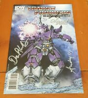 TRANSFORMERS: HEART OF DARKNESS 1 VARIANT RETAILER INCENTIVE SIGNED EDITION RARE