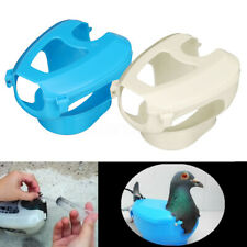 1PC Plastic Racing Pigeon Holder Easy Bird Fixed Frame Rack Medicine Feeder