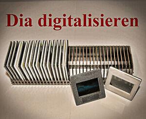 500 Dias digitalisieren, Dia scannen mit ICE Staubentfernung + Kratzerentfernung