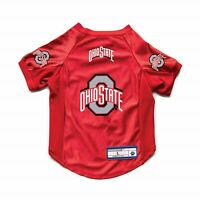 NEW OHIO STATE BUCKEYES DOG CAT DELUXE STRETCH JERSEY