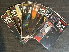 Once & Future #1 2 3 4 5 6 7 8 9 Full Run Gillen Mora Boom! Studios 1st prints