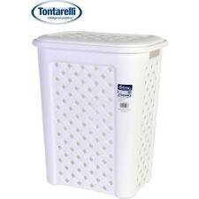 Cesto ropa 30l Arianna blanco / Tontarelli