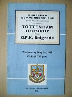 EUROPEAN CUP WINNERS' CUP SEMI FINAL 1963- TOTTENHAM HOTSPUR v O F K BELGRADE