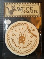 Kiki's Delivery Service Real Wood BEVERAGE COASTER Which features Jiji MIP