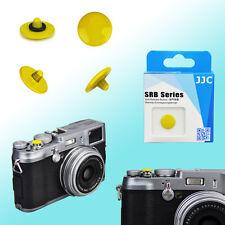 Yellow Convex Shutter Release Button JJC Brass FUJIFILM X20 Leica M2 Olympus OM1