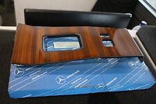 Ori. Mercedes W124  - Holzblende Mittelkonsole Abdeckung Zebrano 1246800207 NEU