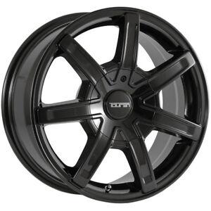 "Touren TR65 18x8 6x120/6x132 +30mm Black Wheel Rim 18"" Inch"