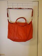 Longchamp Le Pliage Cuir Large travel Bag/ Cross Bodybag/ ToteBag