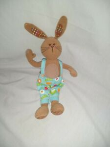 "12"" cute soft boots the chemist bunny plush doll"