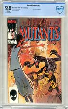The New Mutants   #27  CBCS   9.8   NMMT   White pages   5/85