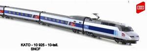 K 10925 - KATO - 10-tlg.TGV Reseau SNCF, Ep.VI inkl. Innenbeleuchtung