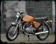 Benelli 650 Tornado 71 02 A4 Metal Sign Motorbike Vintage Aged