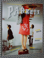 Parkett Magazine, TOMASELLI, MARCEL DZAMA, PETER DOIG, JOHN BOCK