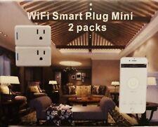 M.Way WiFi Smart Plug mini Switch Power 2 packs
