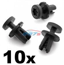 10x 6mm VW Torx Head Plastic Trim Clips- 7L6868307, Seat base, duct, mountings
