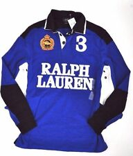 $145 NWT RALPH LAUREN CUSTOM FIT Men's SNOW POLO CHALLENGE CUP SHIRT RUGBY XXL