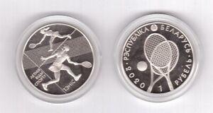 Belarus - 1 Ruble 2020 ( 2021 ) UNC Summer Sports - Tennis Lemberg-Zp