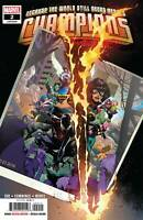 Champions #2 Aaron Kim Jacinto Main Cover Marvel Comic 1st Print 2019 unread NM