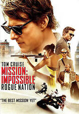 Mission: Impossible - Rogue Nation (DVD, WS, 2015) Tom Cruise NEW