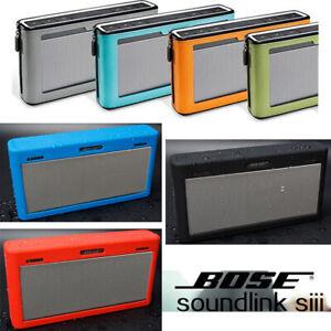 Travel Potable Protect PU/Bumper Cover Case Bag fr BOSE SoundLink III 3 Speaker